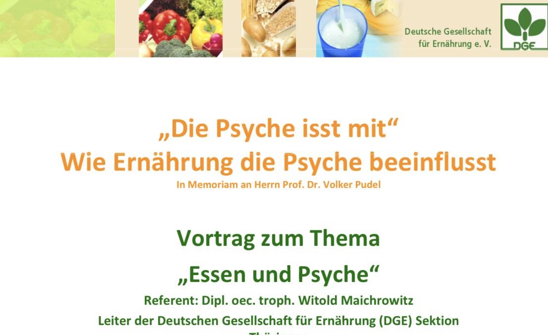 PDF Vortrag Ernährung